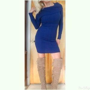 BCBG LONGSLEEVE DRESS SIZE XS